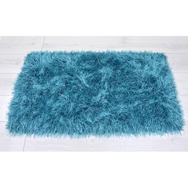 Kusový koberec Shaggy MAX inspiration - tyrkysový