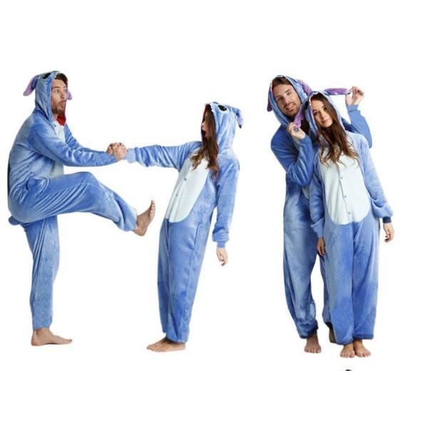 Overal KIGURUMI - Stitch - modrý