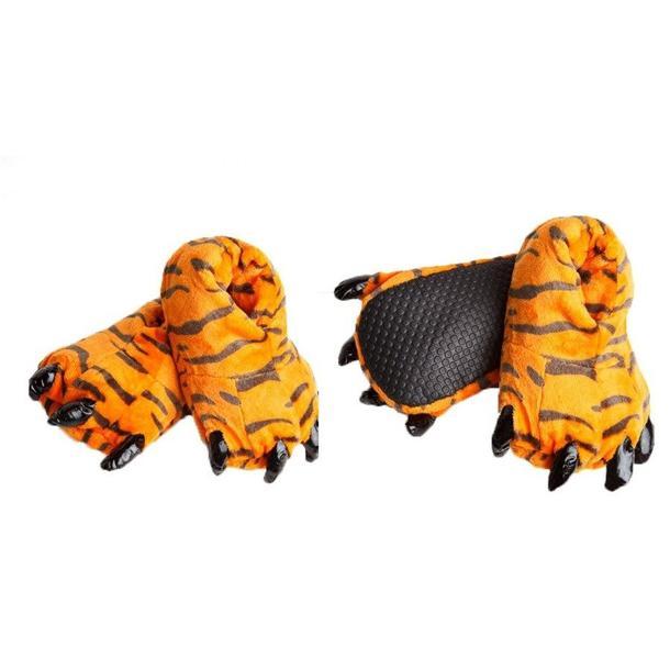 Plyšové papuče KIGU - tigrík