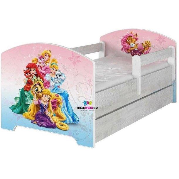 SKLADOM: Detská posteľ Disney - PALACE PETS 160x80 cm