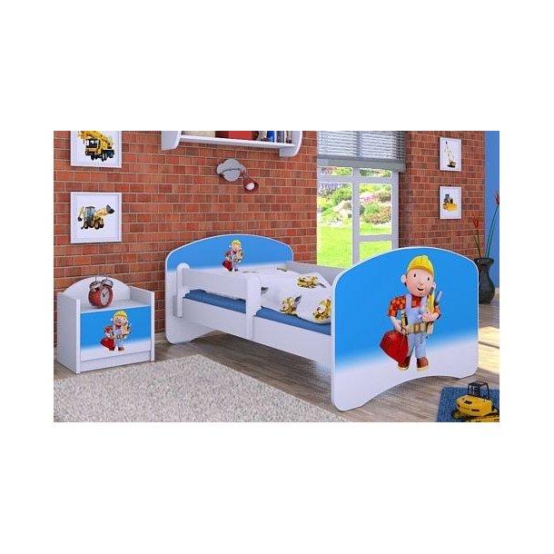 Detská posteľ bez šuplíku 180x90cm BOŘEK STAVITEL