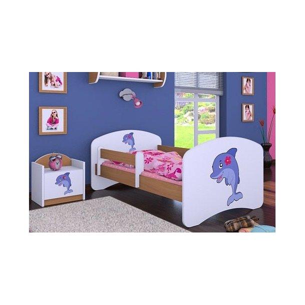 Detská posteľ bez šuplíku 160x80cm DELFÍN