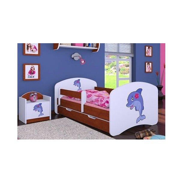 Detská posteľ so zásuvkou 160x80cm DELFÍN