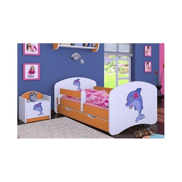 Detská posteľ so zásuvkou 180x90cm DELFÍN