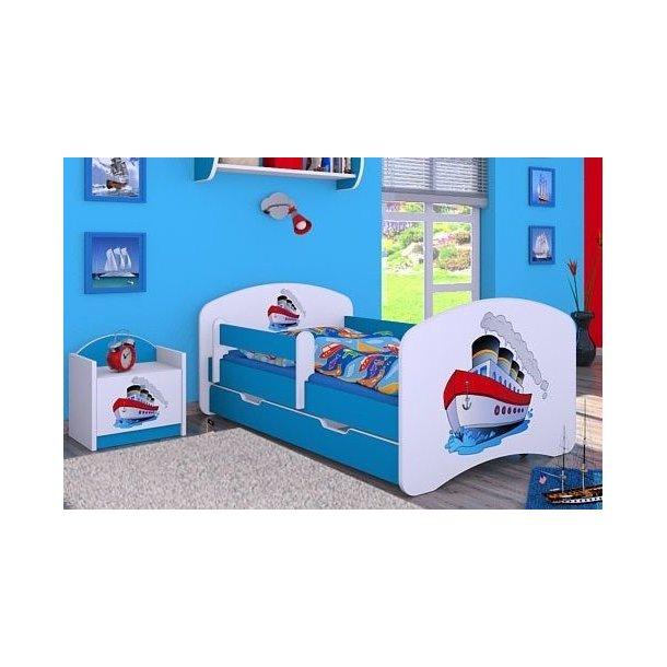 Detská posteľ so zásuvkou 180x90cm LODIČKA