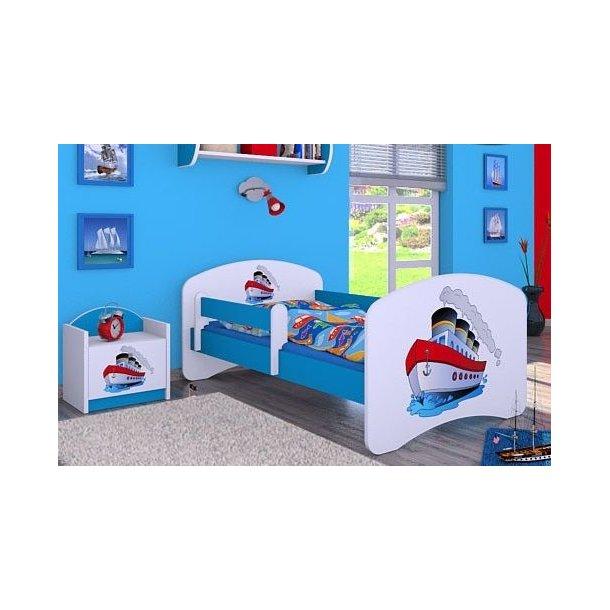 Detská posteľ bez šuplíku 160x80cm LODIČKA