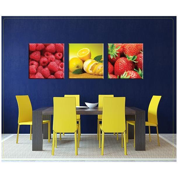 Obraz na plátne 30x30cm JABLKO - vzor 4
