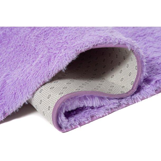 Plyšový koberec TOP - FIALOVÝ