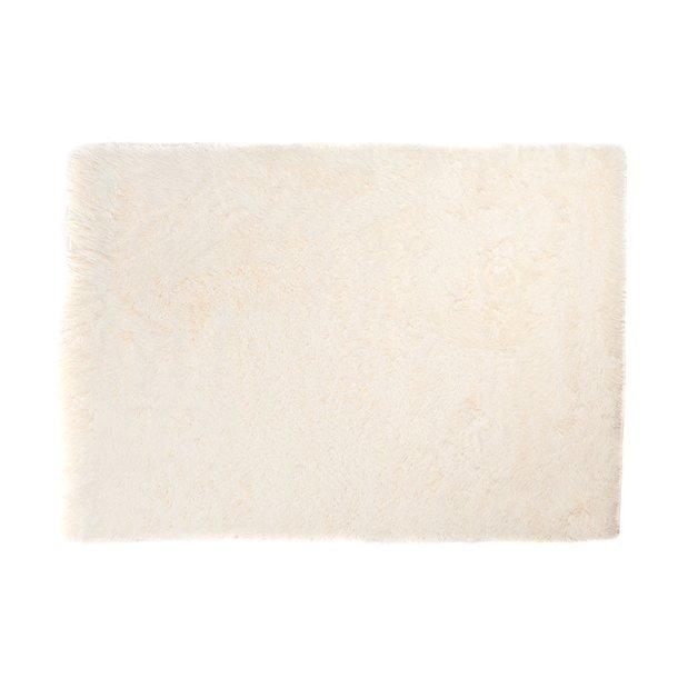 Plyšový koberec TOP - KRÉMOVÝ
