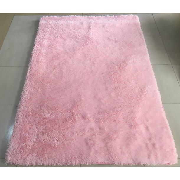 Plyšový koberec TOP - SVETLE RUŽOVÝ