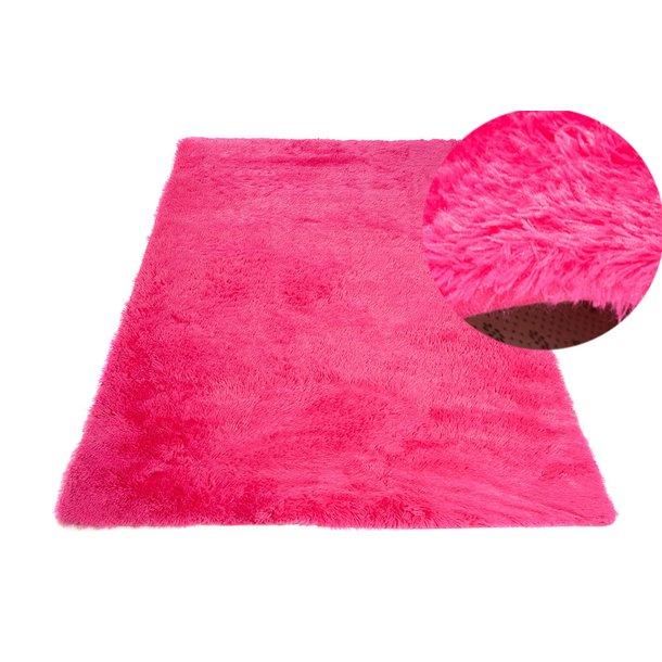 Plyšový koberec TOP - TMAVO RUŽOVÝ