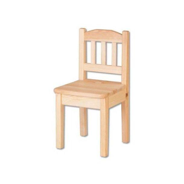 8736877027dc Detská drevená jedálenská stolička z masívu borovice ...
