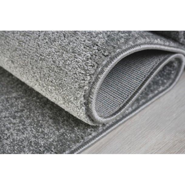 Detský koberec mrakom striebornošedý / biely 100x150 cm
