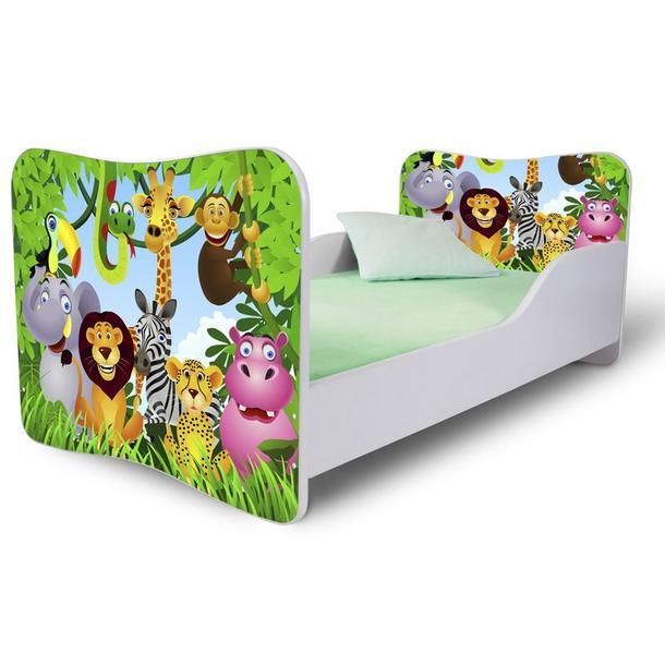 Detská posteľ MADAGASKAR + matrac ZADARMO