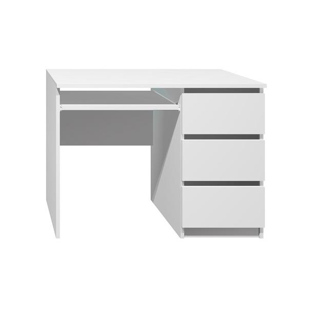 Písací stôl - CITY TYP A - biela