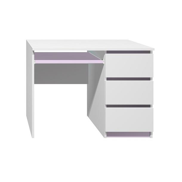 Písací stôl - CITY TYP A - fialová