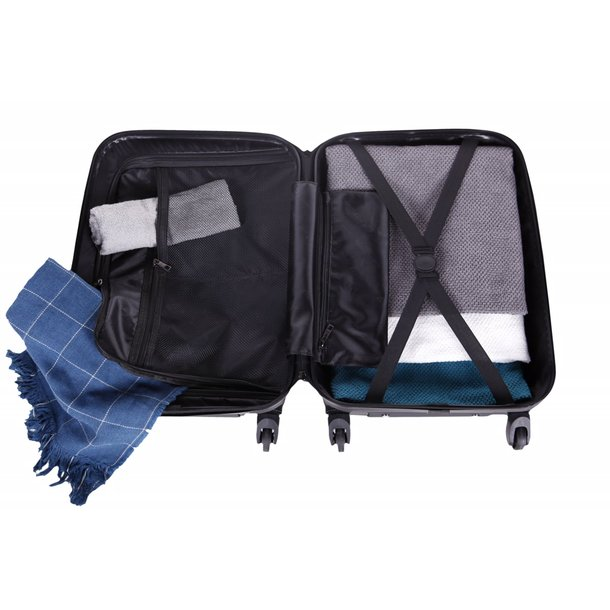 Cestovný kufor MILANO - purpurový