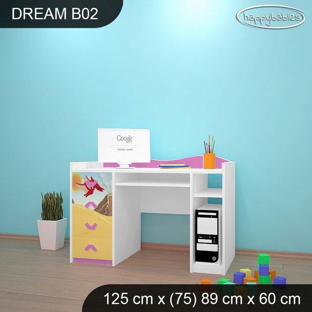 Detský písací stôl DINOSAURI - TYP 2