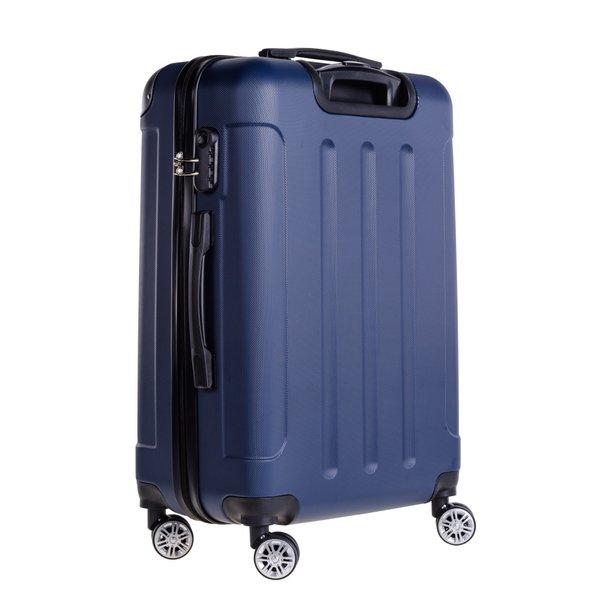 Cestovný kufor BERLIN - tmavomodrý