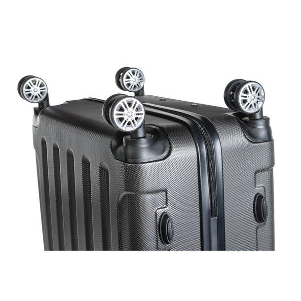 Cestovný kufor BERLIN - sivý