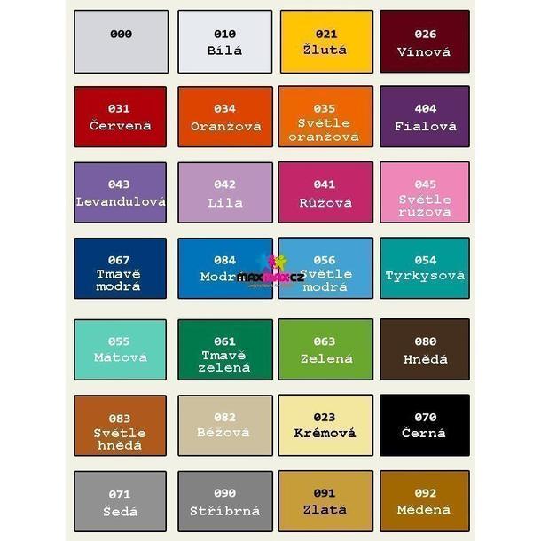 Dvojfarebné samolepky STROM DUO color - vzor 13