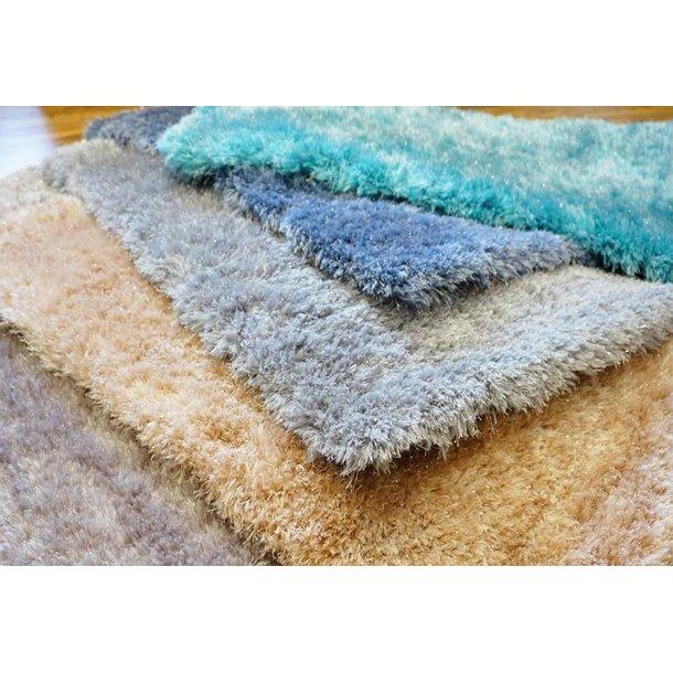 Kusový koberec Shaggy MAX mussy - tmavě modrý