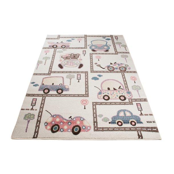 Detský koberec Happy - DOPRAVA 2