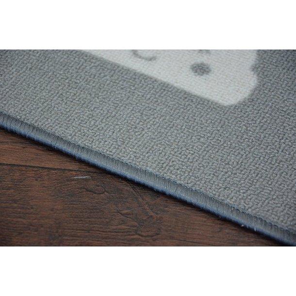 Detský koberec SPIACI mráčika - sivý