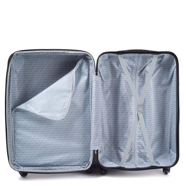 Moderné cestovné kufre Cáder - mätové