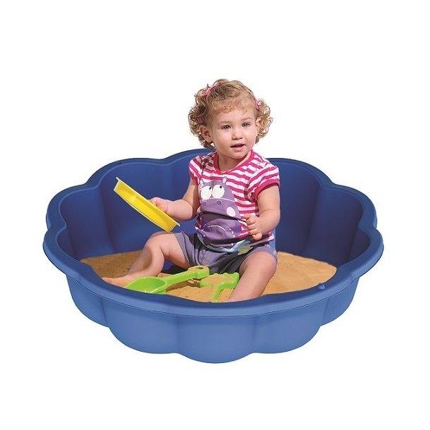 Detské pieskovisko a bazén 2v1 KVET - 75,7x20,5 cm