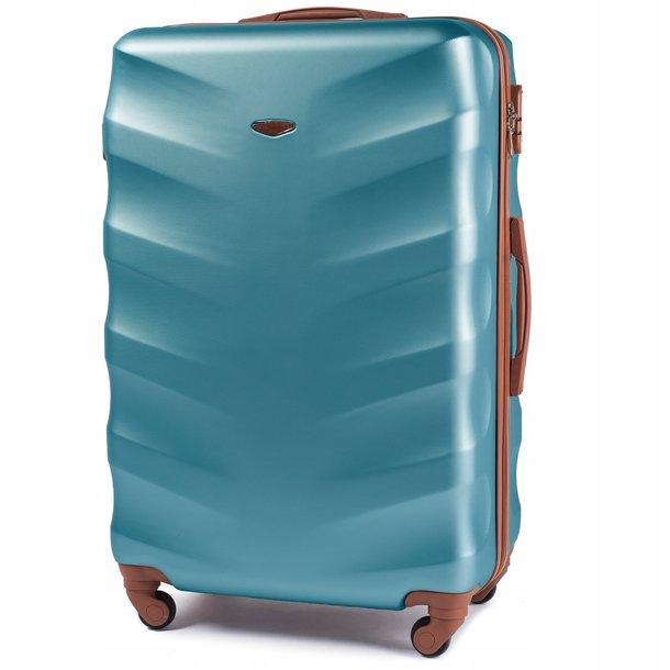 Moderné cestovné kufre ARROW - metalické modré