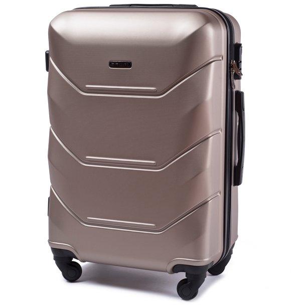 Moderné cestovné kufre PAVO - béžové