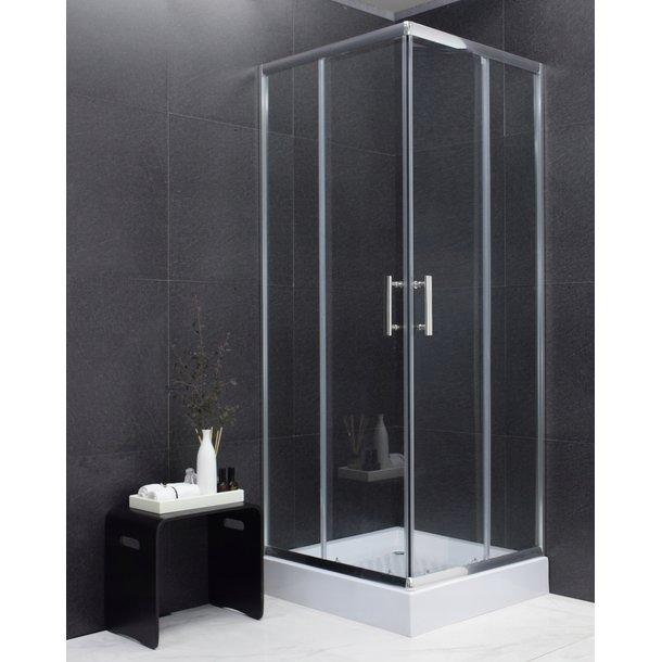 Sprchovací kút maxmax MEXEN RIO transparent - 80x80 cm