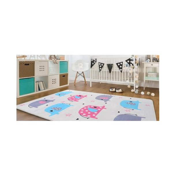 Detský koberec Soft - SLONI