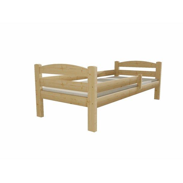 Detská posteľ z masívu 200x90cm so zásuvkou - DP005