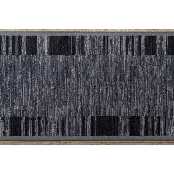 Moderné behúň AGADIO 133x200 cm - šedý - pogumovaný