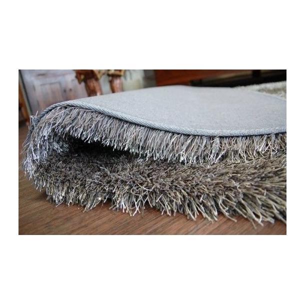 Kusový koberec SHAGGY LOVE - tmavosivý