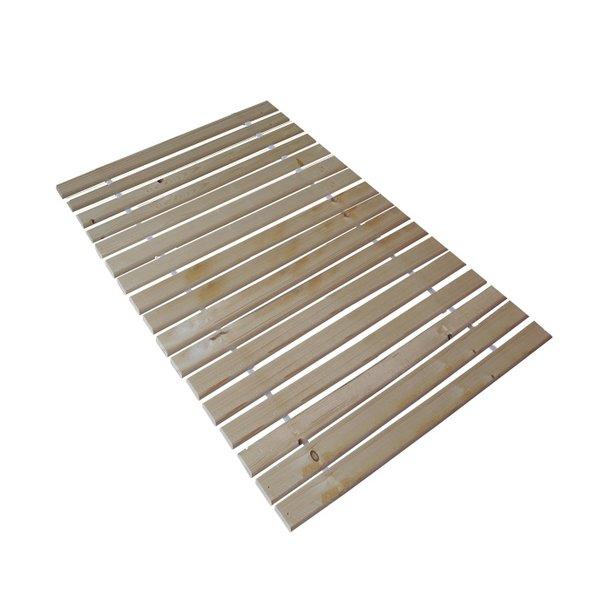 SKLADOM: Posteľ z masívu borovice - jednolôžko 200x90 cm - MAX 122