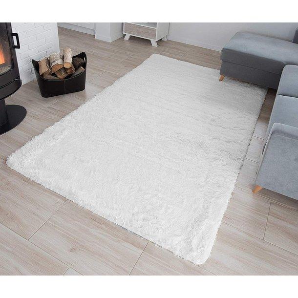 Plyšový koberec TOP - IVORY