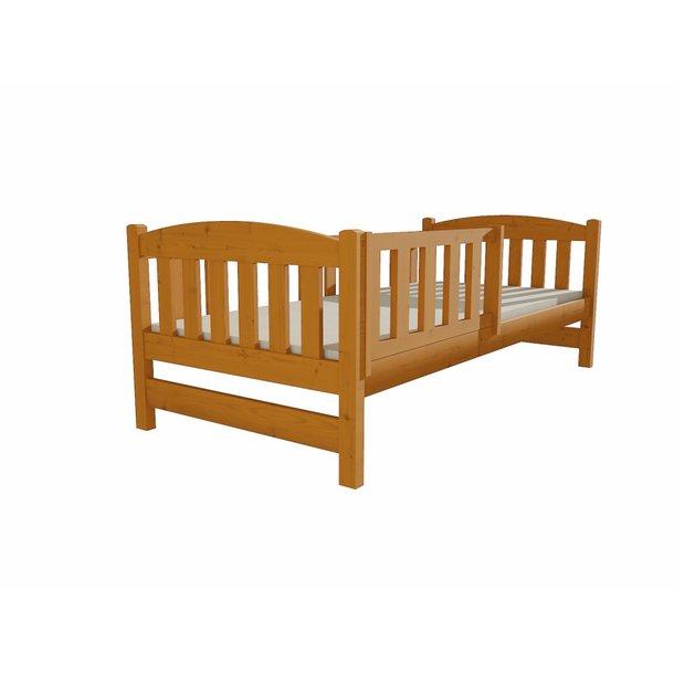 SKLADOM: Detská posteľ z MASÍVU 200x80cm bez šuplíku - DP002 - ružová