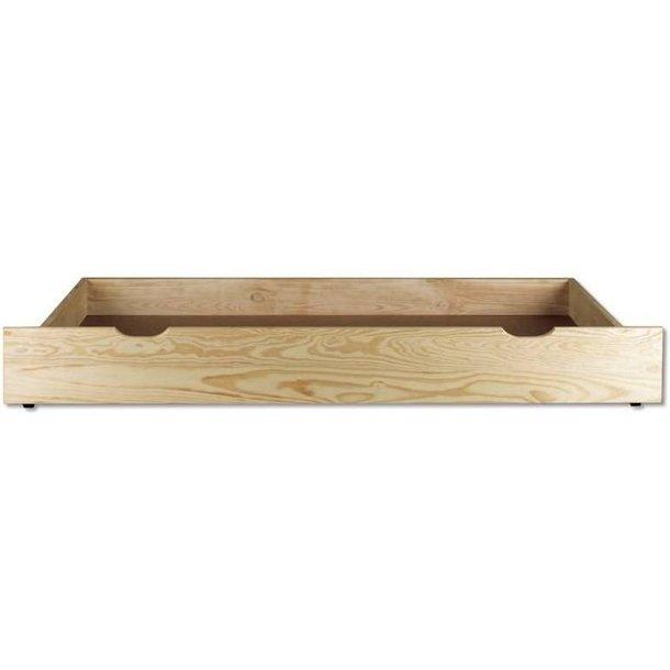 SKLADOM: Posteľ z masívu borovice - jednolôžko 200x90 cm - MAX 125 - jelša