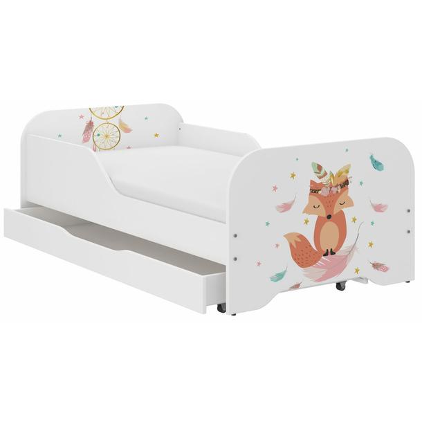 Detská posteľ KIM - LIŠKA 160x80 cm