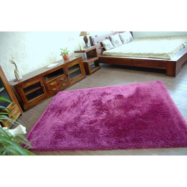 Kusový koberec SHAGGY MACHO fialový