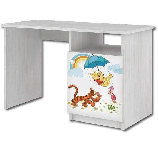 Detský písací stôl Disney - MACKO PÚ V DAŽĎU