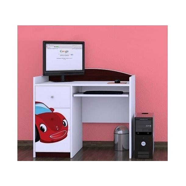 Detský písací stôl RED CAR - TYP 10