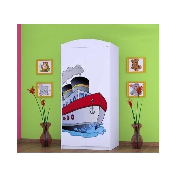 Detská skriňa lodička - TYP 7A