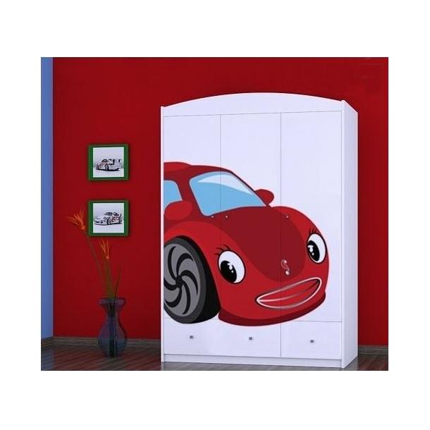 Detská skriňa RED CAR - TYP 11