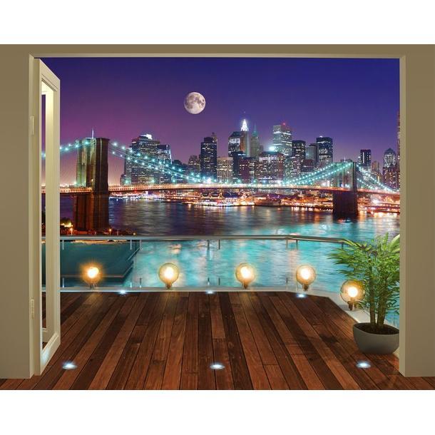 Moderné 3D tapeta Brooklynský most