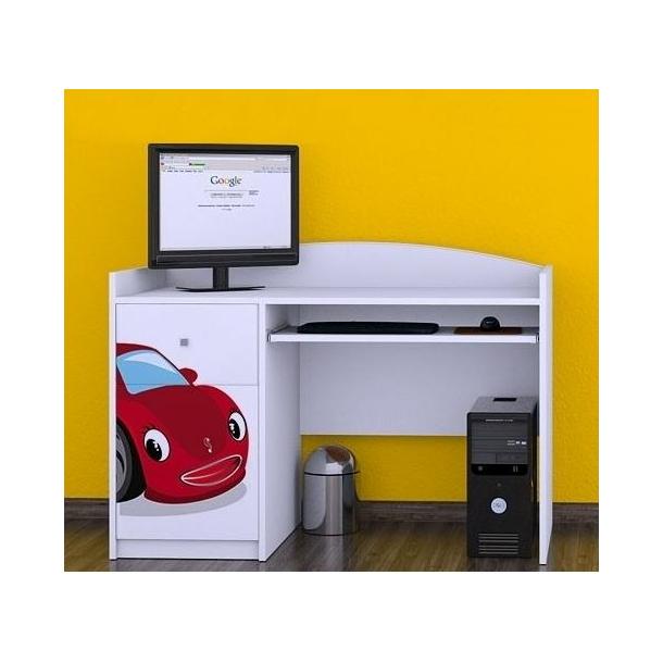 Detský písací stôl RED CAR - TYP 6
