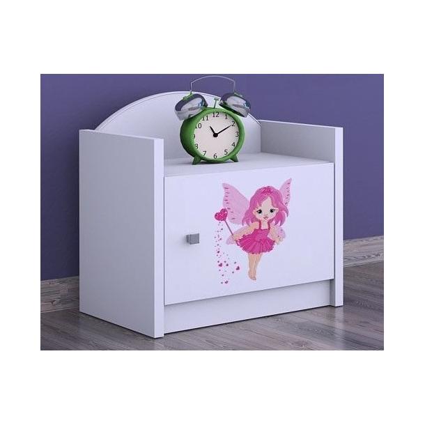 Detský nočný stolík VÍLA - TYP 3